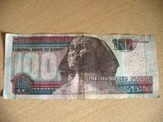 Geld im Ägypten Urlaub