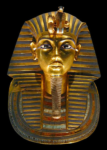 Maske des Tutanchamun